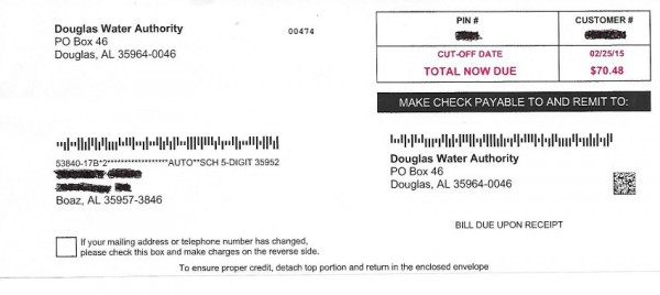 Online Payment   Douglas Water Authority